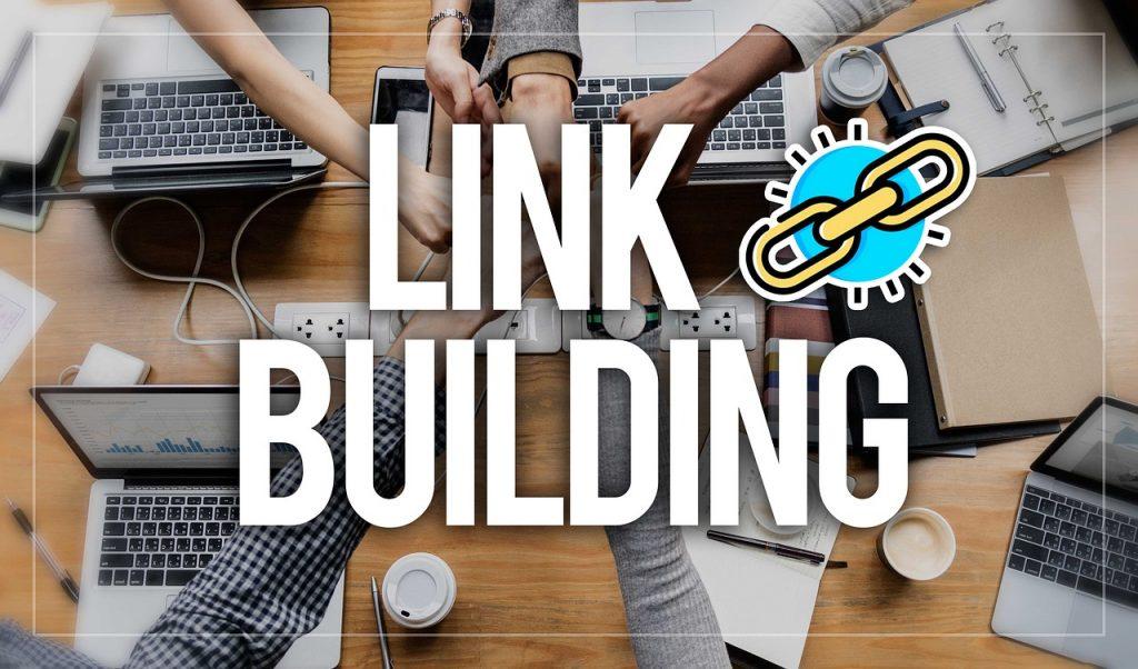 link építés